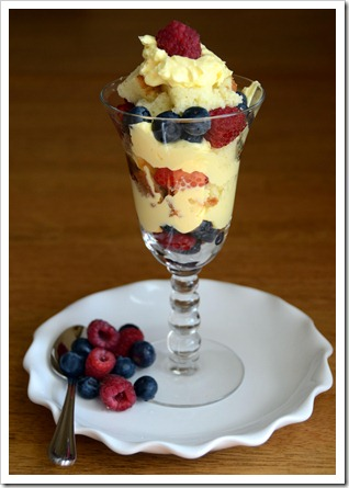 Margaret's Berry Trifle