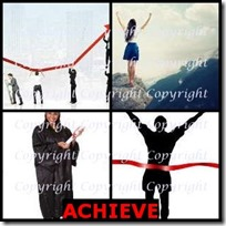 ACHIEVE- 4 Pics 1 Word Answers 3 Letters