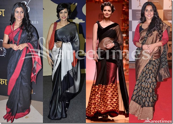 Black_Saree_Fashion_March_2013