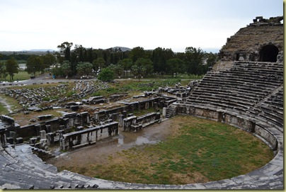 Miletus view of theatre