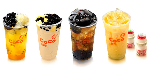 Boba bubble milk tea pearl milk tea tapioca Coco Taiwan