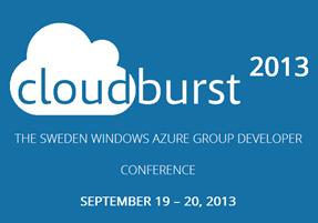 CloudBurst2013