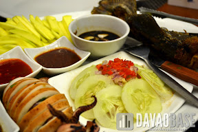 PiYESta Meals come complete with Pinoy sauces and dips: chili sauce, bagoong, and soy sauce