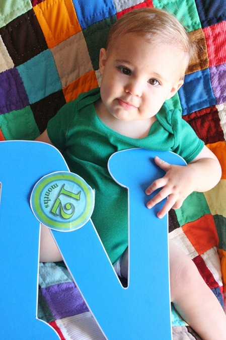 Nash is 12 months!!! 049