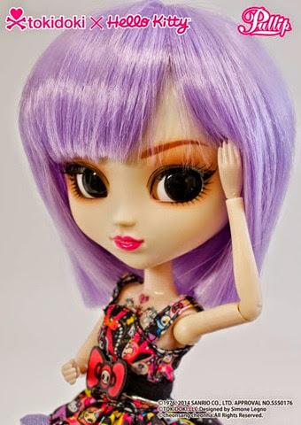 Pullip Violetta Tokidoki x Hello Kitty 06