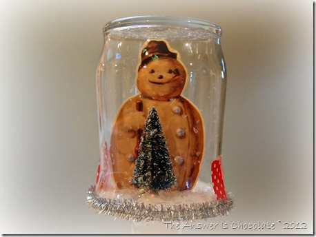 Frosty Snow Jar