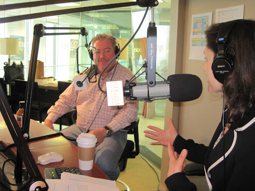 Blue Smoke executive chef Kenny Callaghan joins Betsy in the studio.