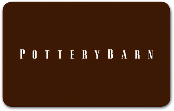 Pottery Barn Gift Card 3