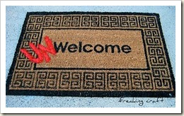 un-welcome mat