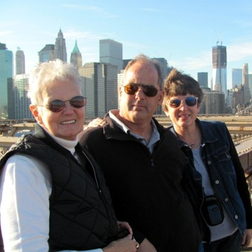 Brooklyn Bridge with the Godbys