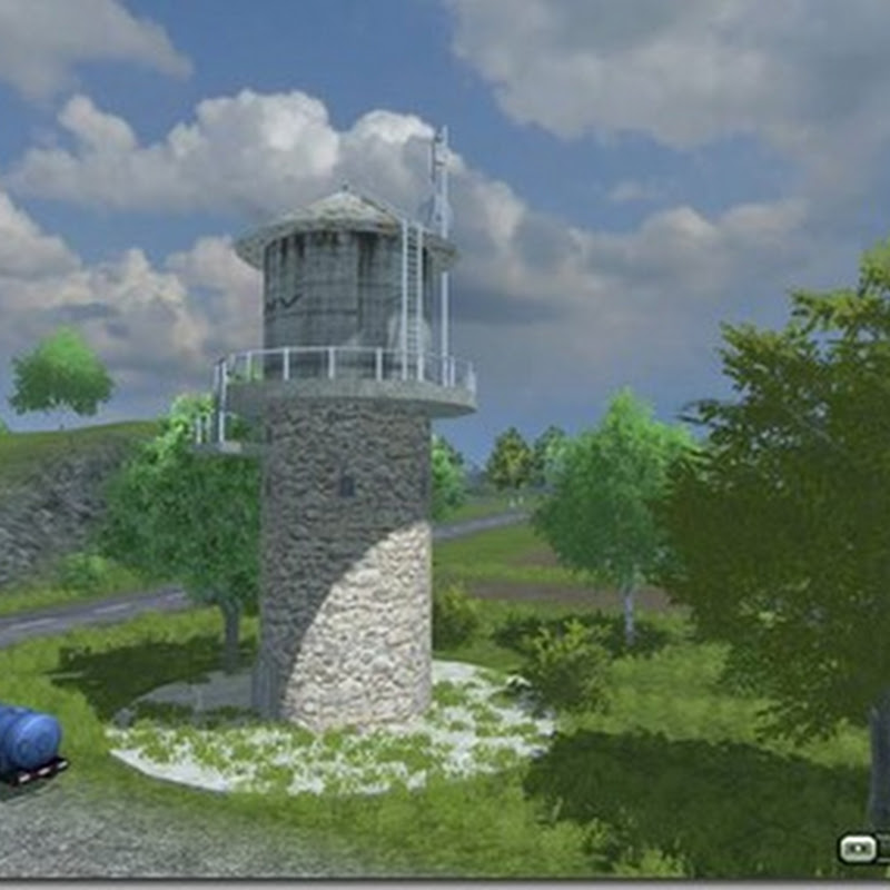 Farming simulator 2013 - Water Tower v 2.1 (acquedotto)