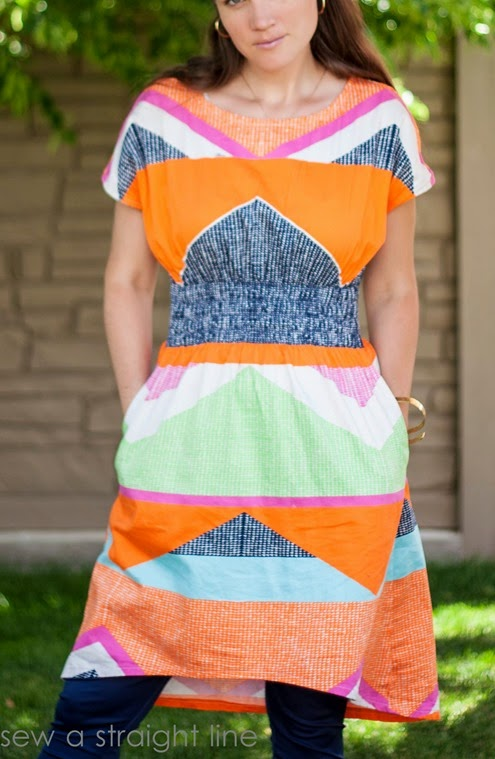 geometric staple dress sew a straight line-6