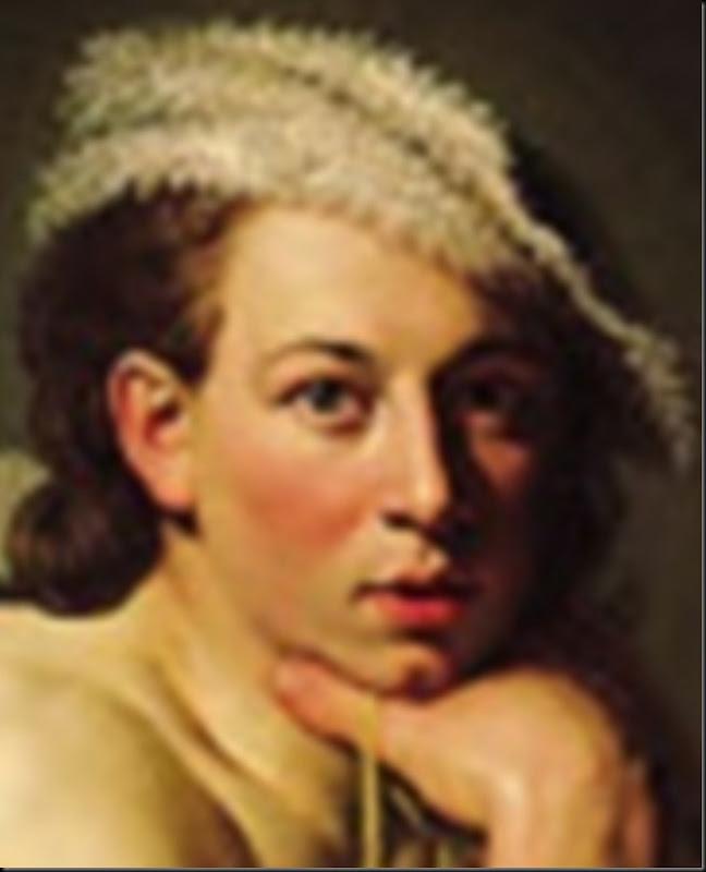 Johannes_Zoffany_Self-portrait_as_David_DETALLE_1