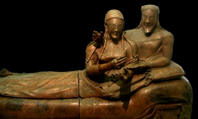el sarcofago de los esposos