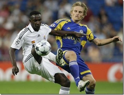 Mahamadou Diarra - former Real Madrid player