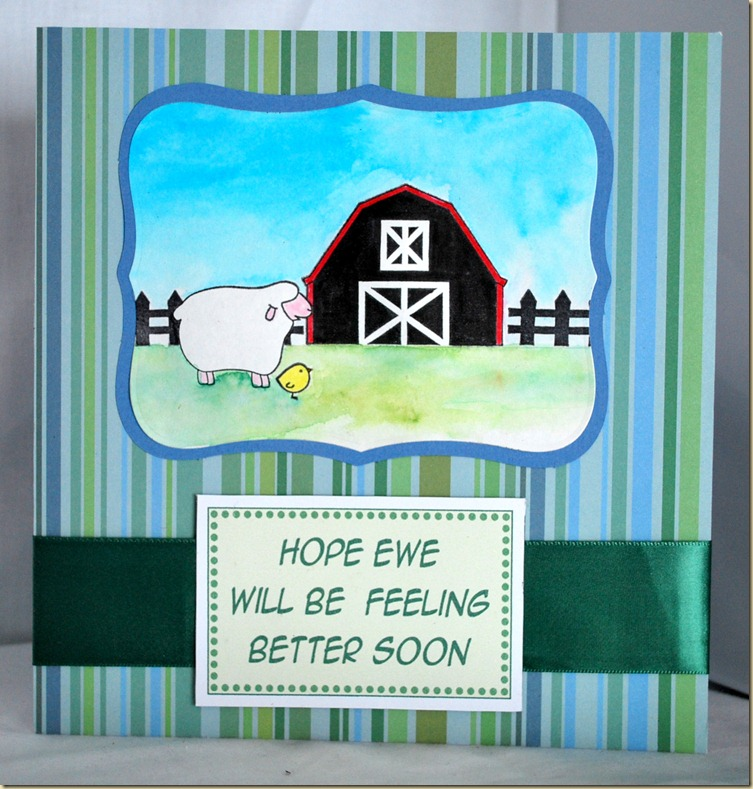 Ewe Get Well Soon