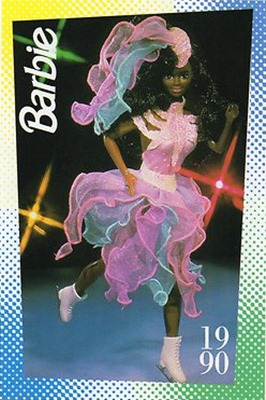 Barbie Ice Capades Afro (1990)