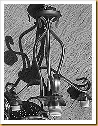 colander chandelier 001