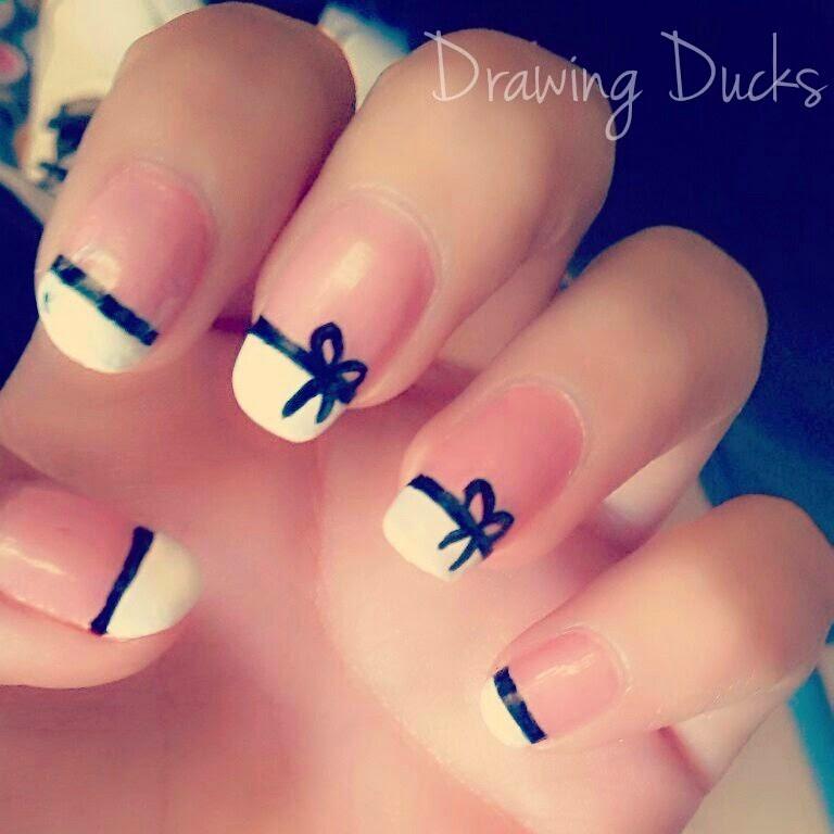 Drawing Ducks: Uñas ; Lazos.