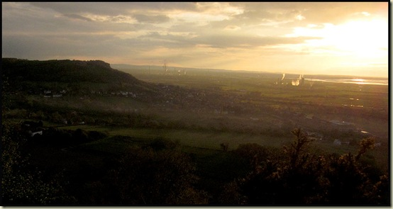 Sunset from Woodhouse Hill