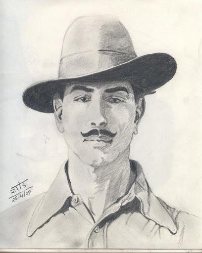 bhagat singh sketch wallpaper - photo #26