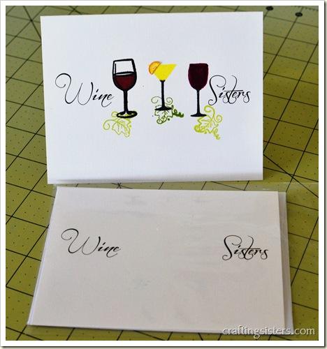 Wine Sisters Card #3