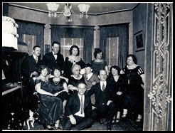 Gould_family in living room probably circa 1924