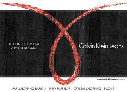 calvin klein jeans liquidacao inverno 2011
