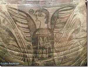 Vaso de Tanit - Detalle - Museo arqueológico de Elche