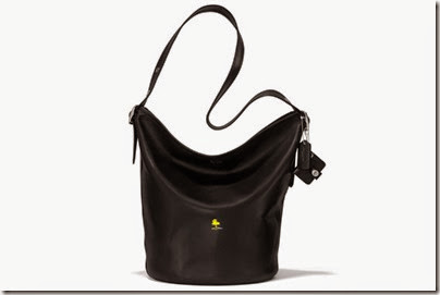 Peanuts X Coach black sling bag