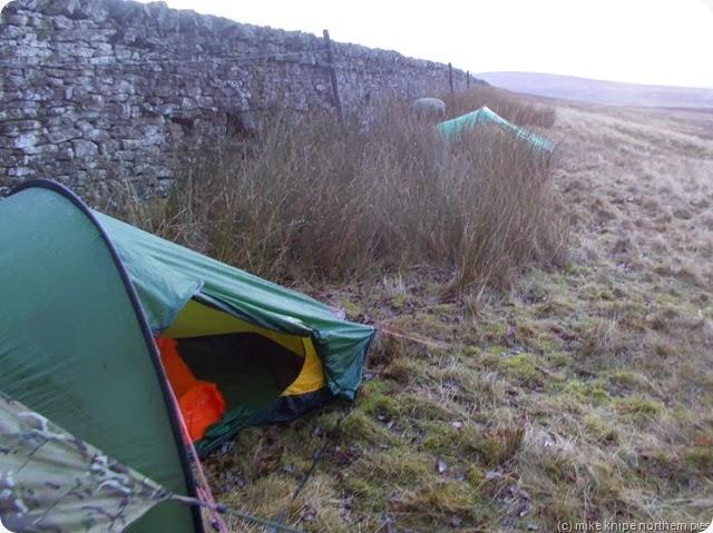 camp above weardale