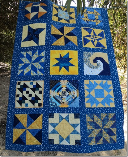 Swap Blocks Quilt.2013