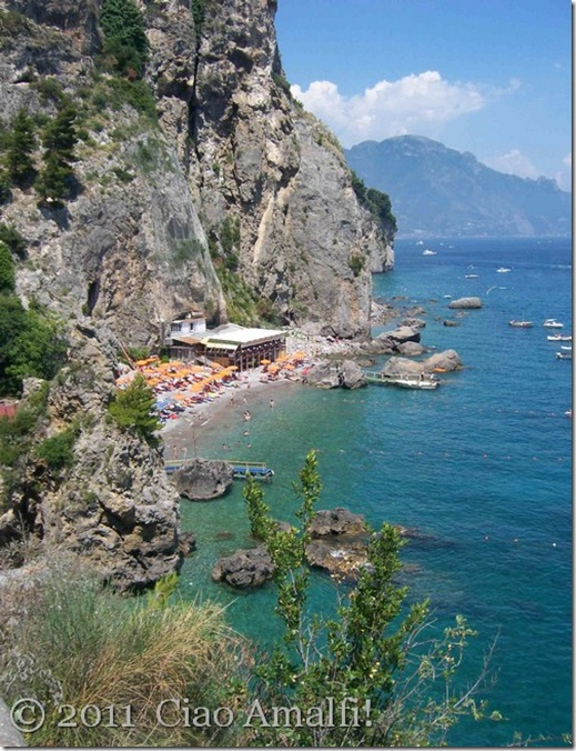 Ciao Amalfi Santa Croce Beach