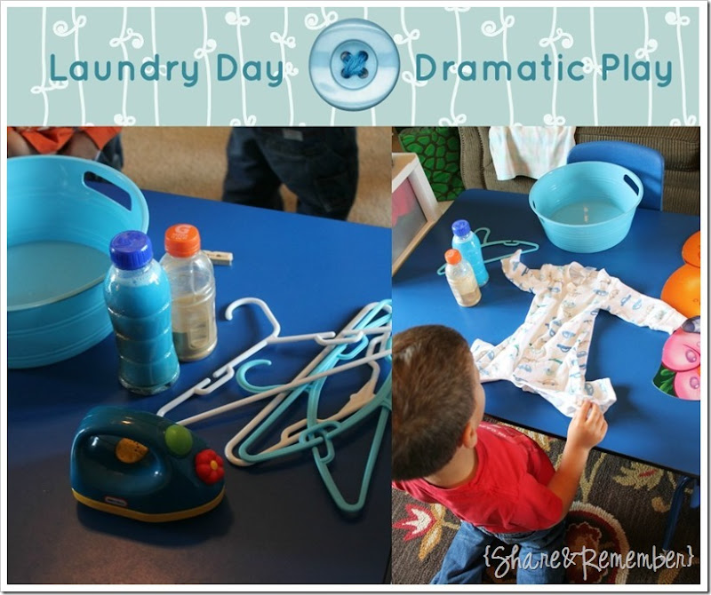 Laundry Dramatic Play