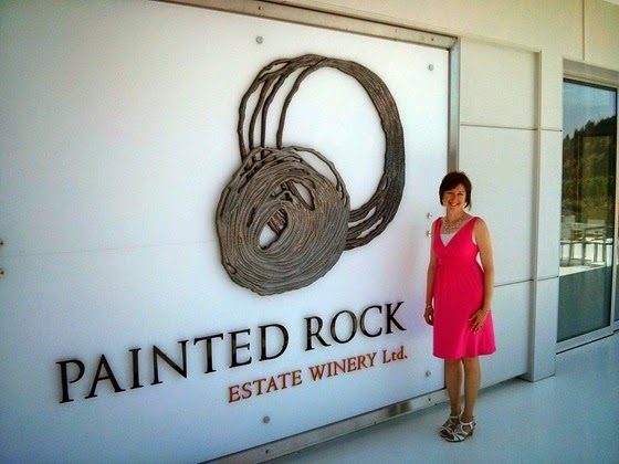 There's no mistaking one's location at Painted Rock
