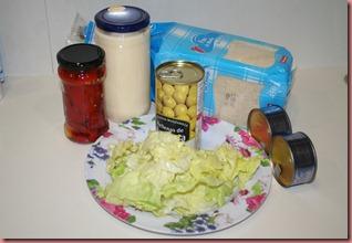 Receta Sandwich Vegetal