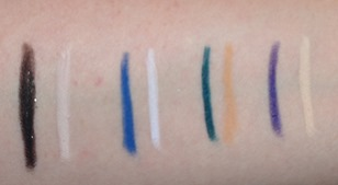 Revlon PhotoReady Kajal Intense Eyeliner   Brightener_swatches1