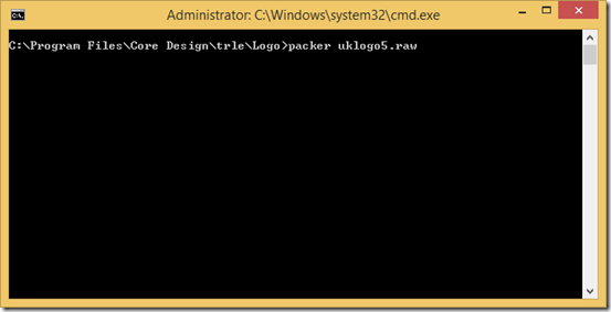 Command prompt screenshot
