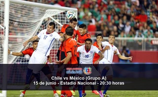 Chile vs México - 15 de junio - Grupo A