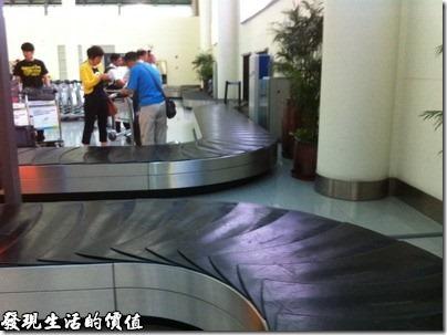 深圳寶安機場的行李輸送帶