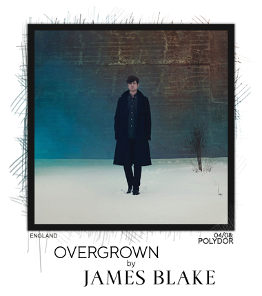 Overgrown by James Blake