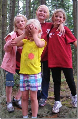Sophia & Troy at Camp Orkila for Indian Princesses