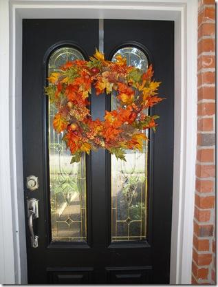 5.  Fall wreath