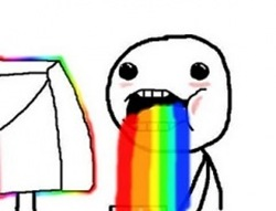 vomitei arcoiris