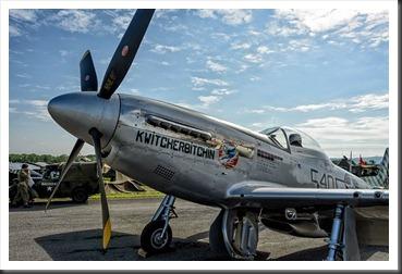 "P51D Mustang ""Kwitcherbitchin"""