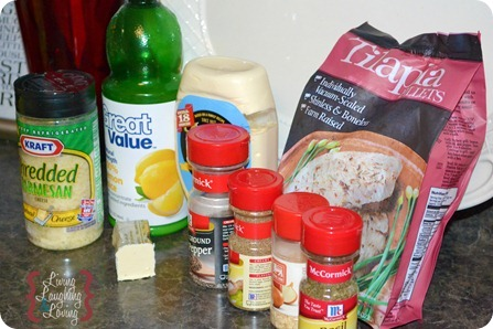 parmesan tilapia ingredients 2