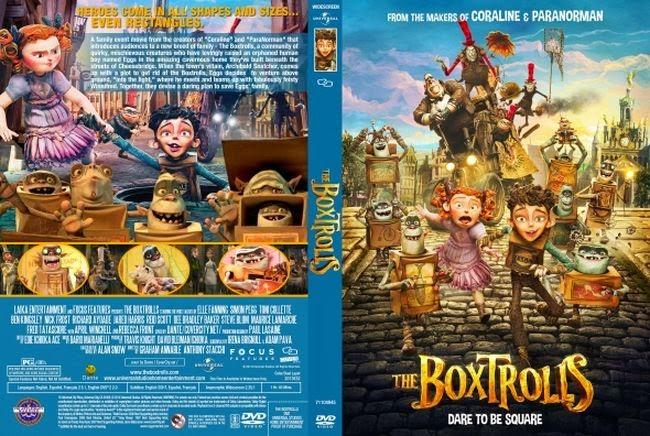 Los Boxtrolls – Castellano – DVD9