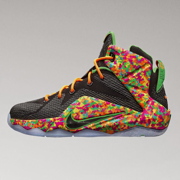 Release Reminder Nike Snack Attack8217s LeBron 12 8220Cereal8221