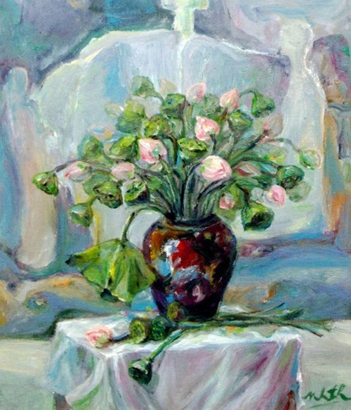 tranh son dau cua hoa si nhuan thuong 5