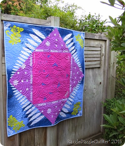 Surfs up bandana quilt